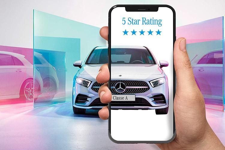 Nasamotor Mercedes 5 Star Rating